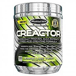 MuscleTech Creactor 220 g lemon lime