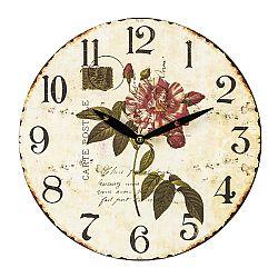 Nástenné hodiny Carte Postale