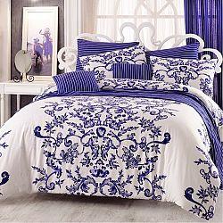 Night in Colours Bavlnené obliečky Royal modrá