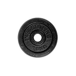 Oceľový kotúč inSPORTline Blacksteel 0,5 kg