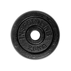 Oceľový kotúč inSPORTline Blacksteel 2,5 kg