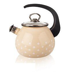 Orion smaltovaný čajník Bodky 2,9 l