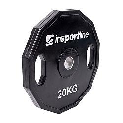Pogumovaný olympijský kotúč inSPORTline Ruberton 20 kg