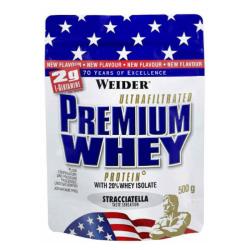 Premium Whey Protein - Weider 500 g strawberry vanilla