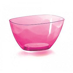 Prosperplast Dekoratívna miska Coubi ružová, 20 cm, 20 cm