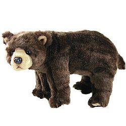 Rappa Plyšový medveď hnedý, 40 cm