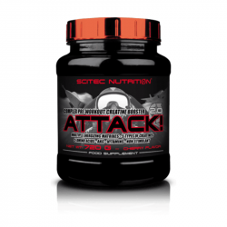 Scitec Nutrition Attack! 2.0 320 g cherry