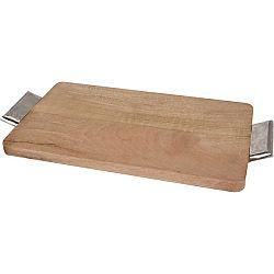 Servírovací tác z mangového dreva 45 x 27,5 cm