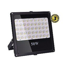 Solight LED vonkajší reflektor, 50W, 4250lm, AC 230V, čierna