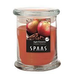 SPAAS Vonná sviečka v skle Apple Cinnamon, 11 cm, 11 cm