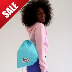 Taška String Bag Turquoise - BeastPink