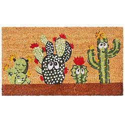 Trade Concept Kokosová rohožka Kaktusy, 40 x 70 cm