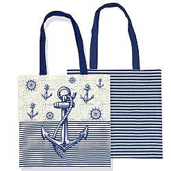 Trade Concept Nákupná taška Navy, 40 x 42 cm