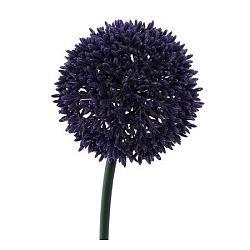 Umelá kvetina Cesnak tmavofialová, 68 cm