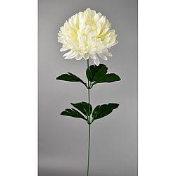 Umelá kvetina Chryzantéma 50 cm, biela