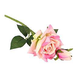 Umelá rozkvitnutá Ruža s pukmi