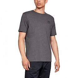Under Armour Sportstyle Left Chest SS Grey