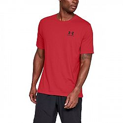 Under Armour Sportstyle Left Chest SS Red