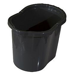 Vedro oválne 13 litrov, sivá