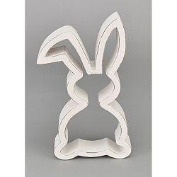 Veľkonočná drevená Silueta zajačika, 18 cm