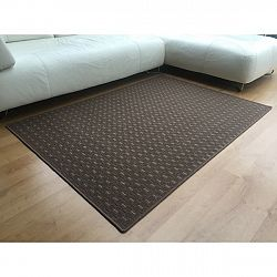 Vopi Kusový koberec Valencia hnedá, 120 x 170 cm
