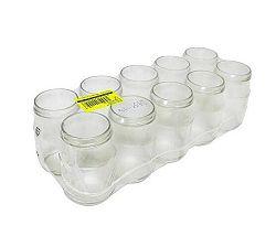 Zaváracie poháre 377 ml, 10 ks