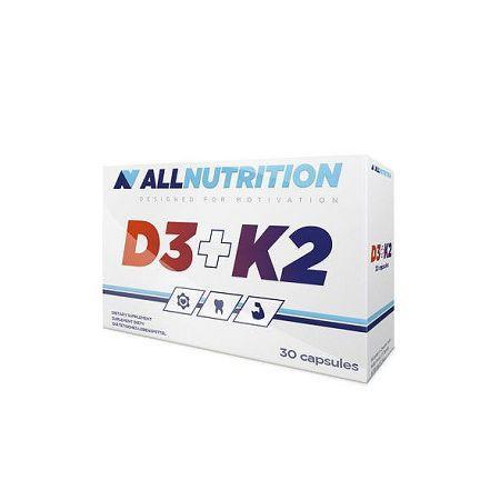 All Nutrition D3 + K2 30 kaps
