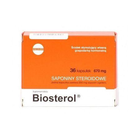 Biosterol - Megabol 36 kaps