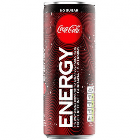 Coca Cola Energy Zero 250 ml