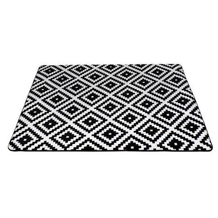 Domarex Koberec z pamäťovej peny Soft Geometric, 120 x 160 cm