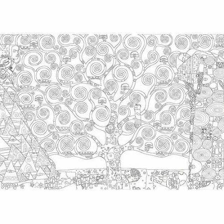 EUROGRAPHICS Color me puzzle Strom života 300 dílků + sada na zavěšení
