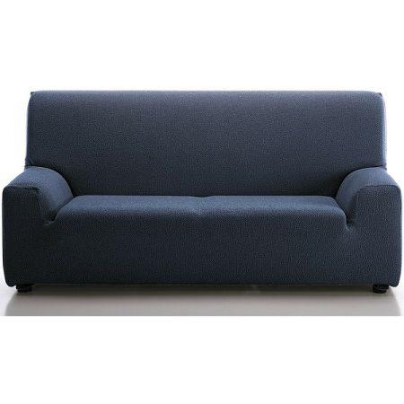 Forbyt Multielastický poťah na sedaciu súpravu Petra modrá, 180 - 240 cm