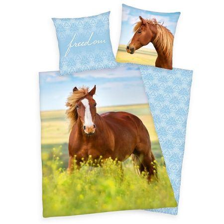 Herding Bavlnené obliečky Horse Freedom, 140 x 200 cm, 70 x 90 cm