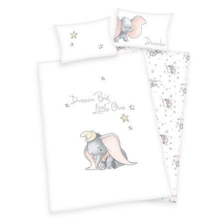 Herding Detské bavlnené obliečky do postieľky Dumbo, 100 x 135 cm, 40 x 60 cm