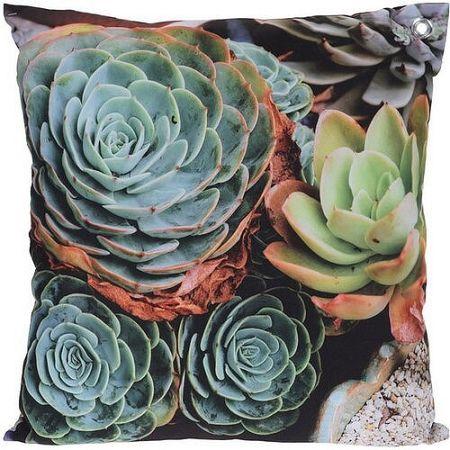 Koopman Vankúšik Kaktusy modrá, 45 x 45 cm