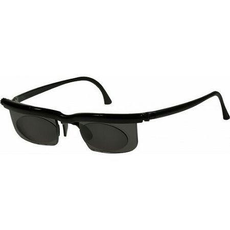 Modom Nastaviteľné dioptrické slnečné okuliare Adlens, čierna, KP203