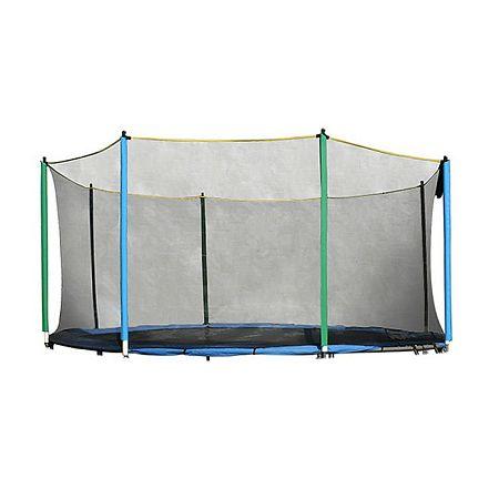 Ochranná sieť na trampolínu inSPORTline 457 cm + 10 tyčí
