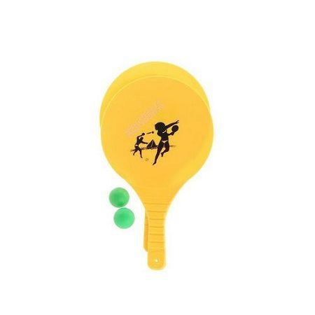 Set na beach ball, žltá