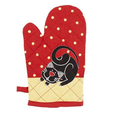 Trade Concept Chňapka s magnetom Mačka červená, 17 x 27 cm