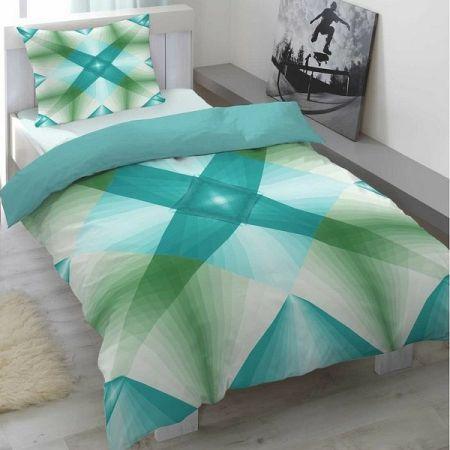 Trade Concept Saténové obliečky Air modrá, 140 x 200 cm, 70 x 90 cm