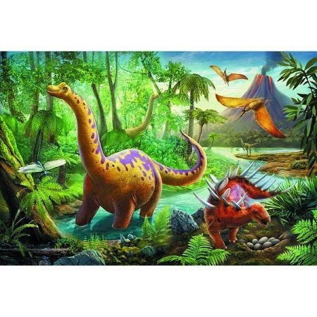 TREFL Dinosauři na cestách 60 dílků