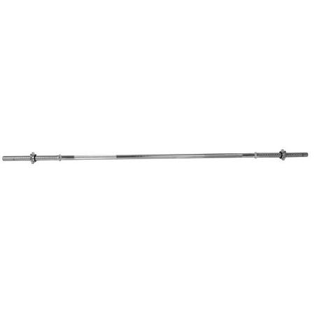 Vzpieračská tyč inSPORTline - rovná 160cm / 25mm RB-63T so závitom